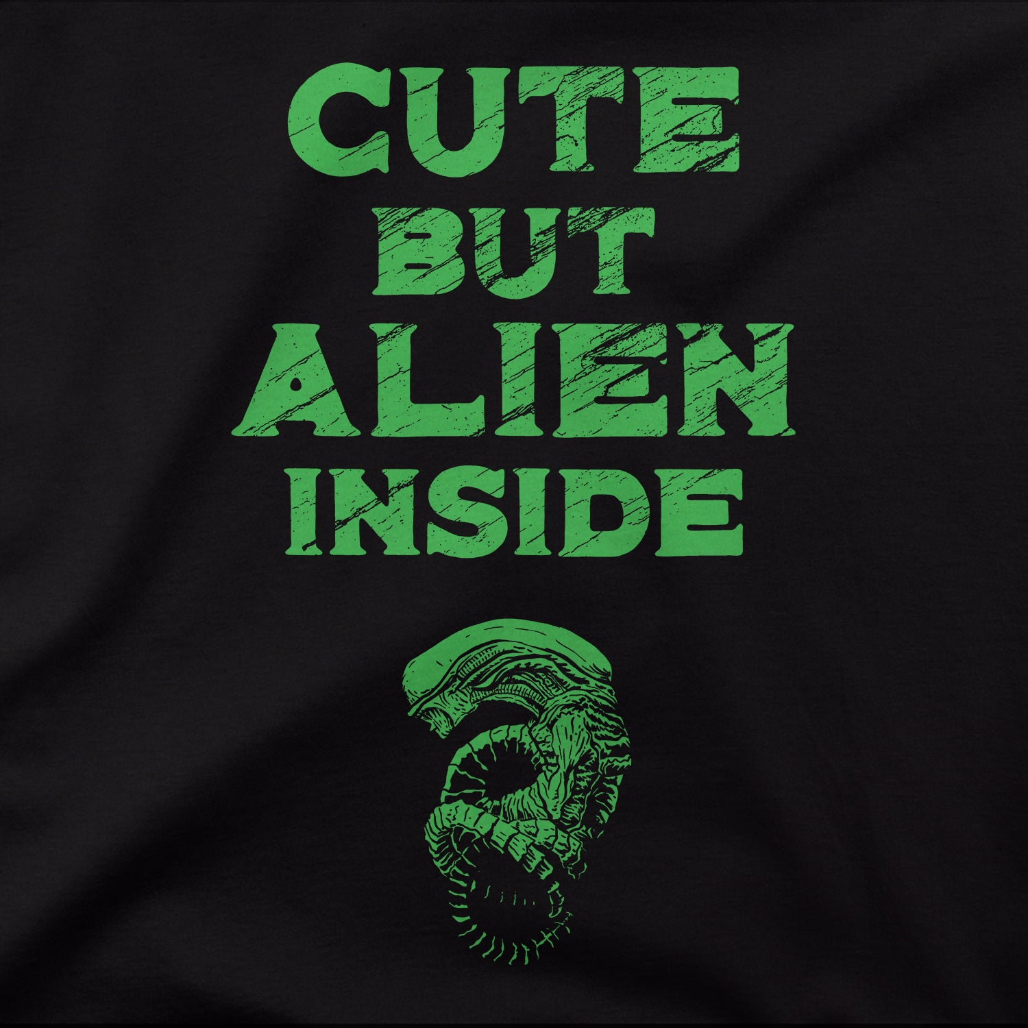 Cute But Alien Inside