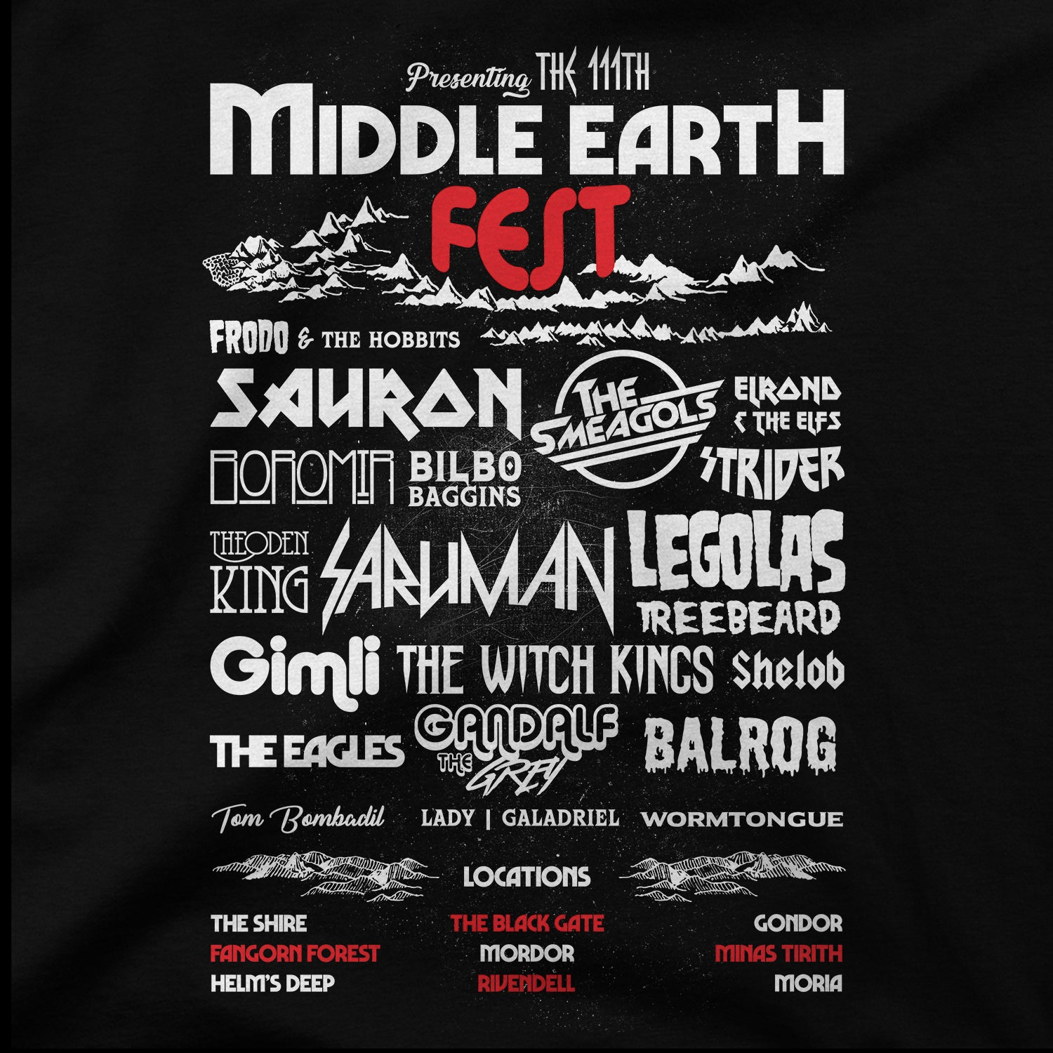Middle Earth Fest