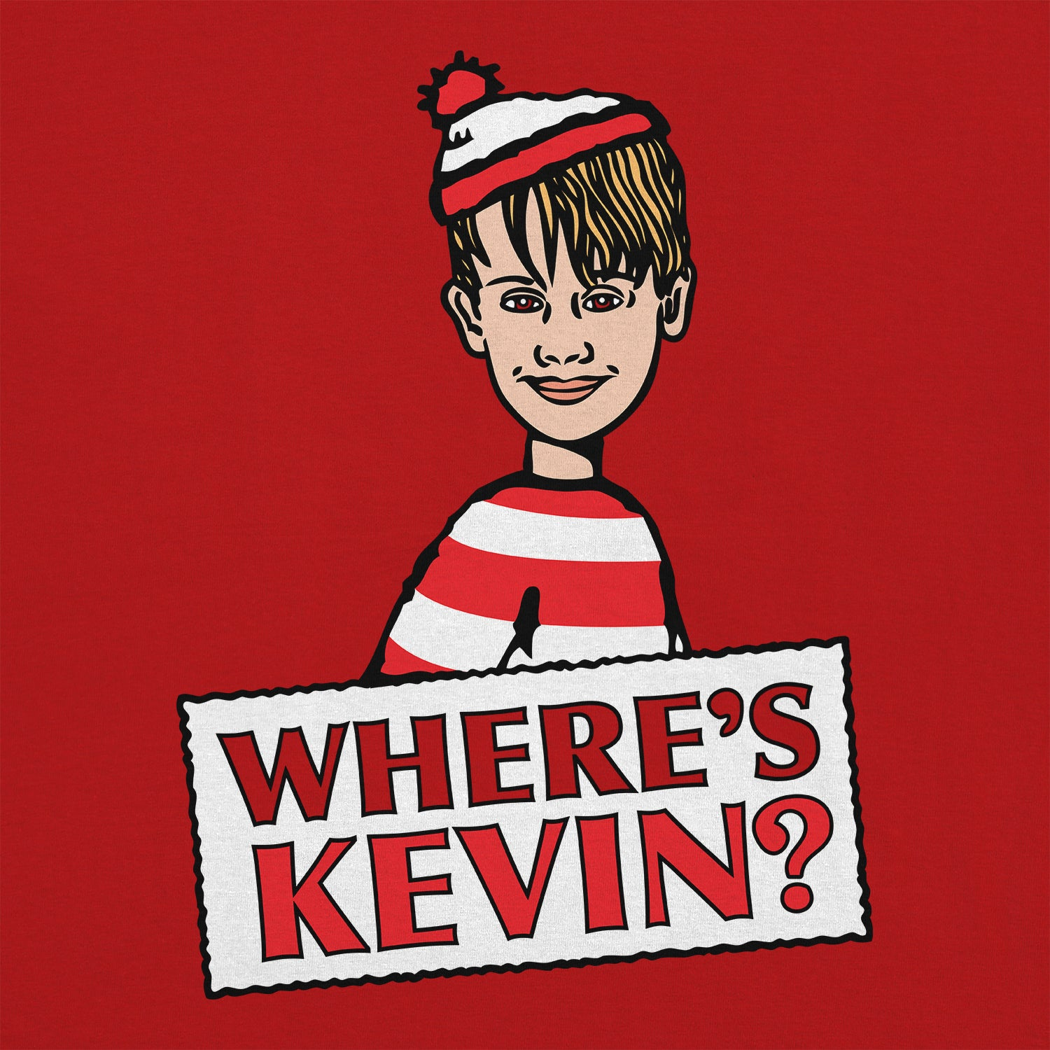 Kevin's Lost - Funny Home Alone T Shirts Online Australia