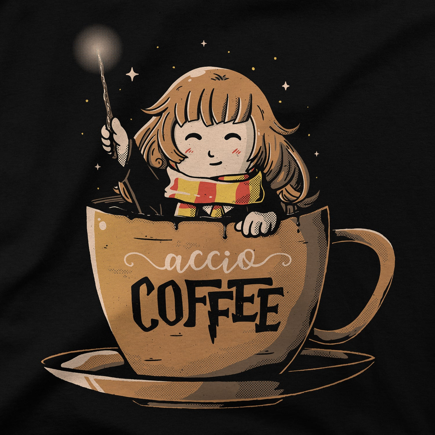 Accio Coffee T-Shirt - LIMITEE
