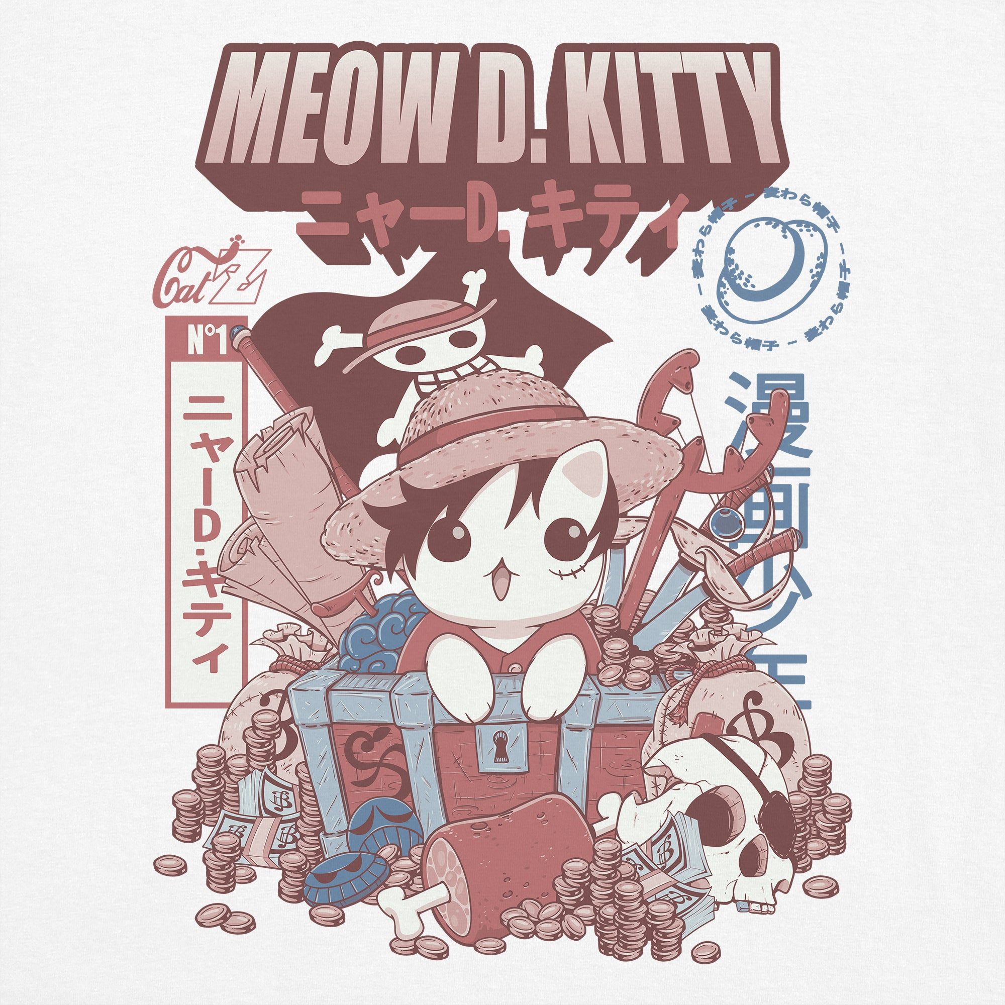 CatZ Meow D. Kitty T-Shirt