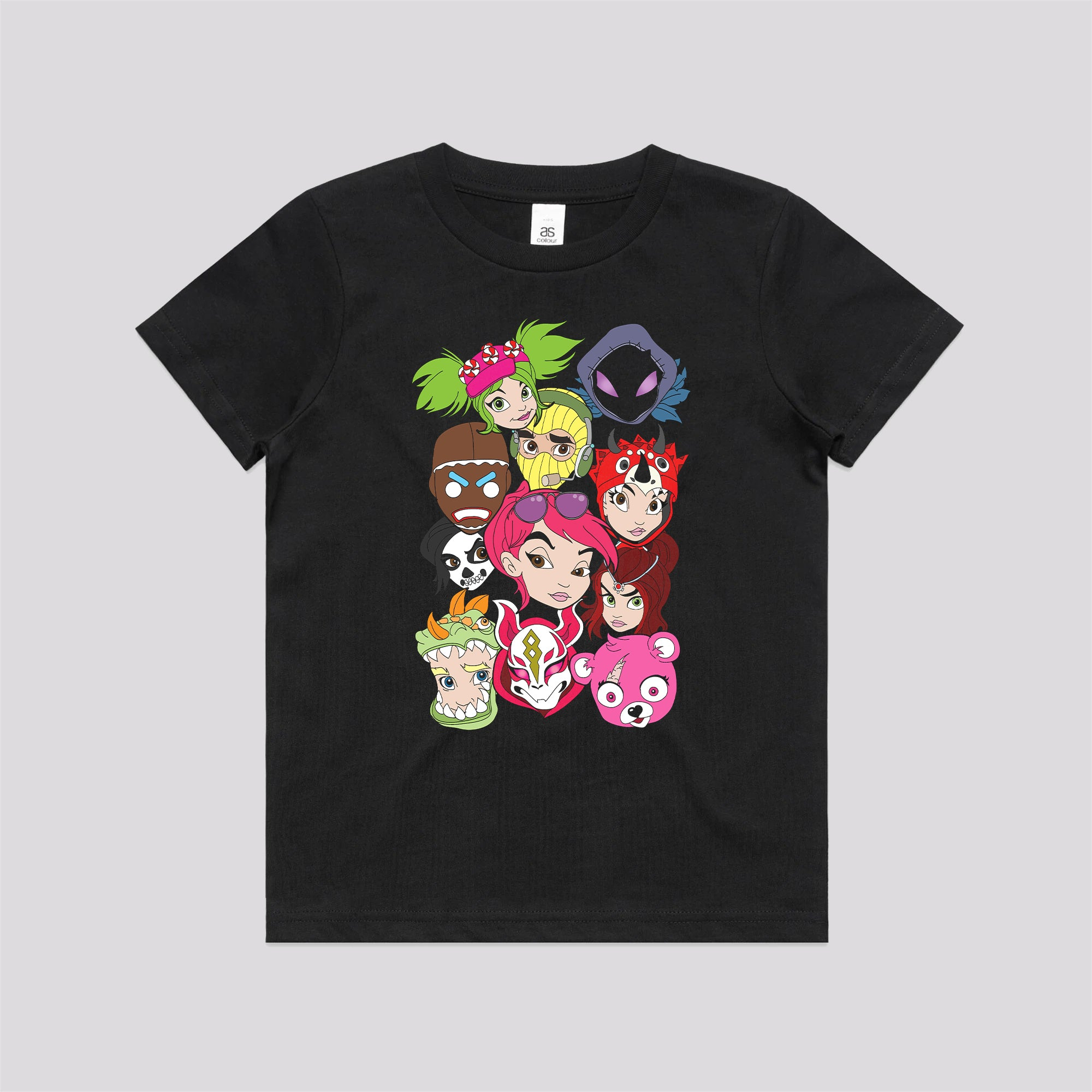 Fortnite Faces Kids T-Shirt