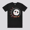 Jason Vorhees Friday The 13th Horror T-Shirt in Black