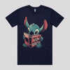 Funny Stitch Cartoon T-Shirt Australia