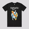 Funny Fantastic Four T-Shirts in Black