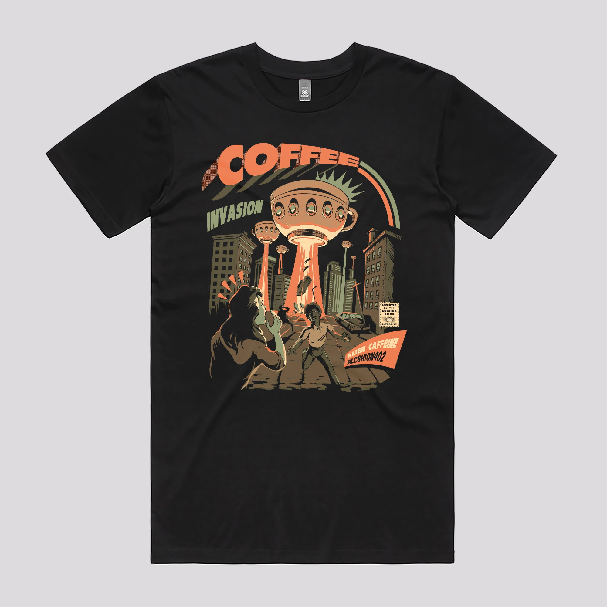 Coffee Invasion T-Shirt