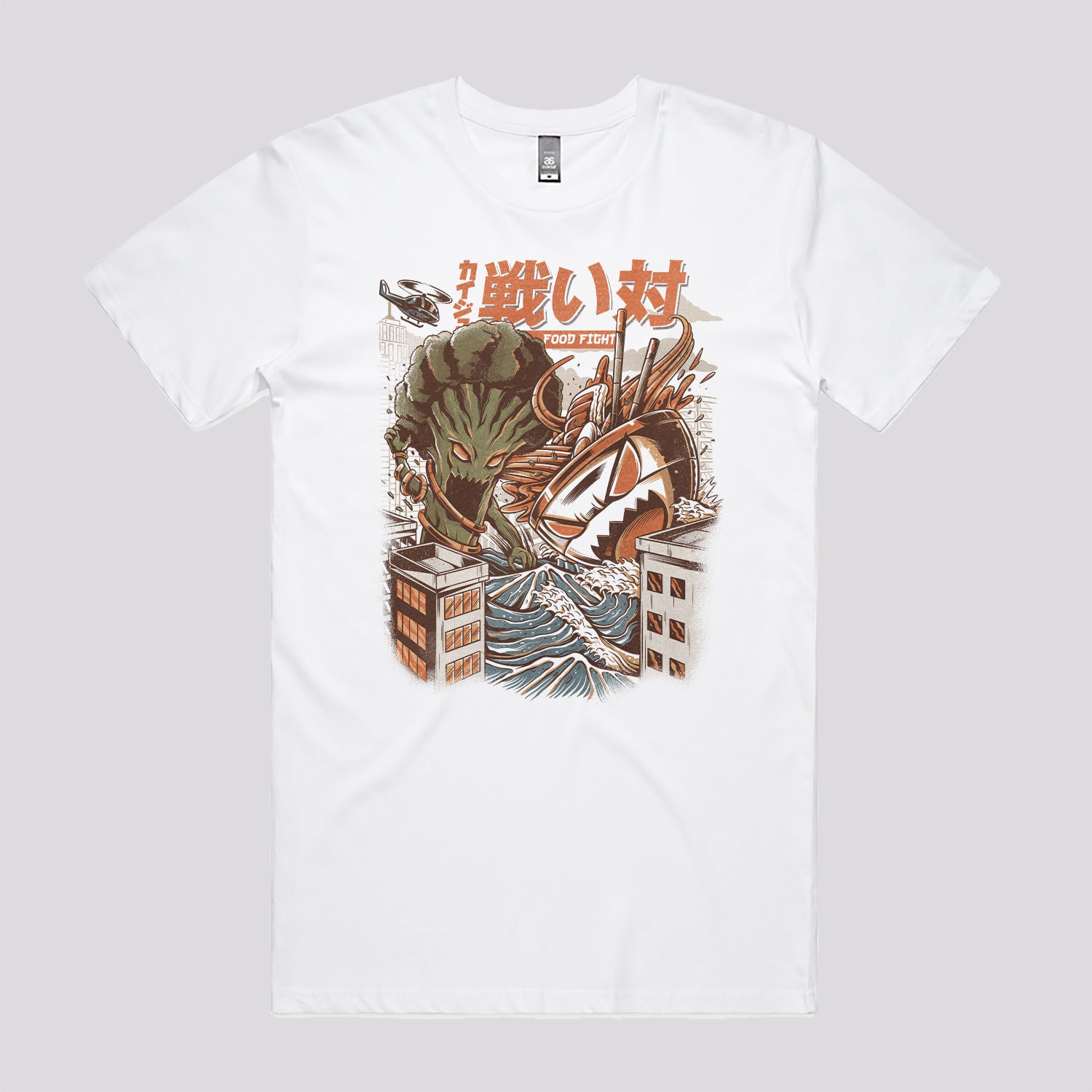 Brocco vs Ramen Kaijus T-Shirt