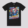 Cool T-Shirt featuring Chucky from Child's Play Horror Movie in Black