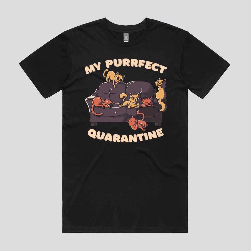 Purrfect Quarantine T-Shirt