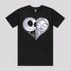 Cute Jack Skellington and Sally from Nightmare Before Christmas T-Shirts