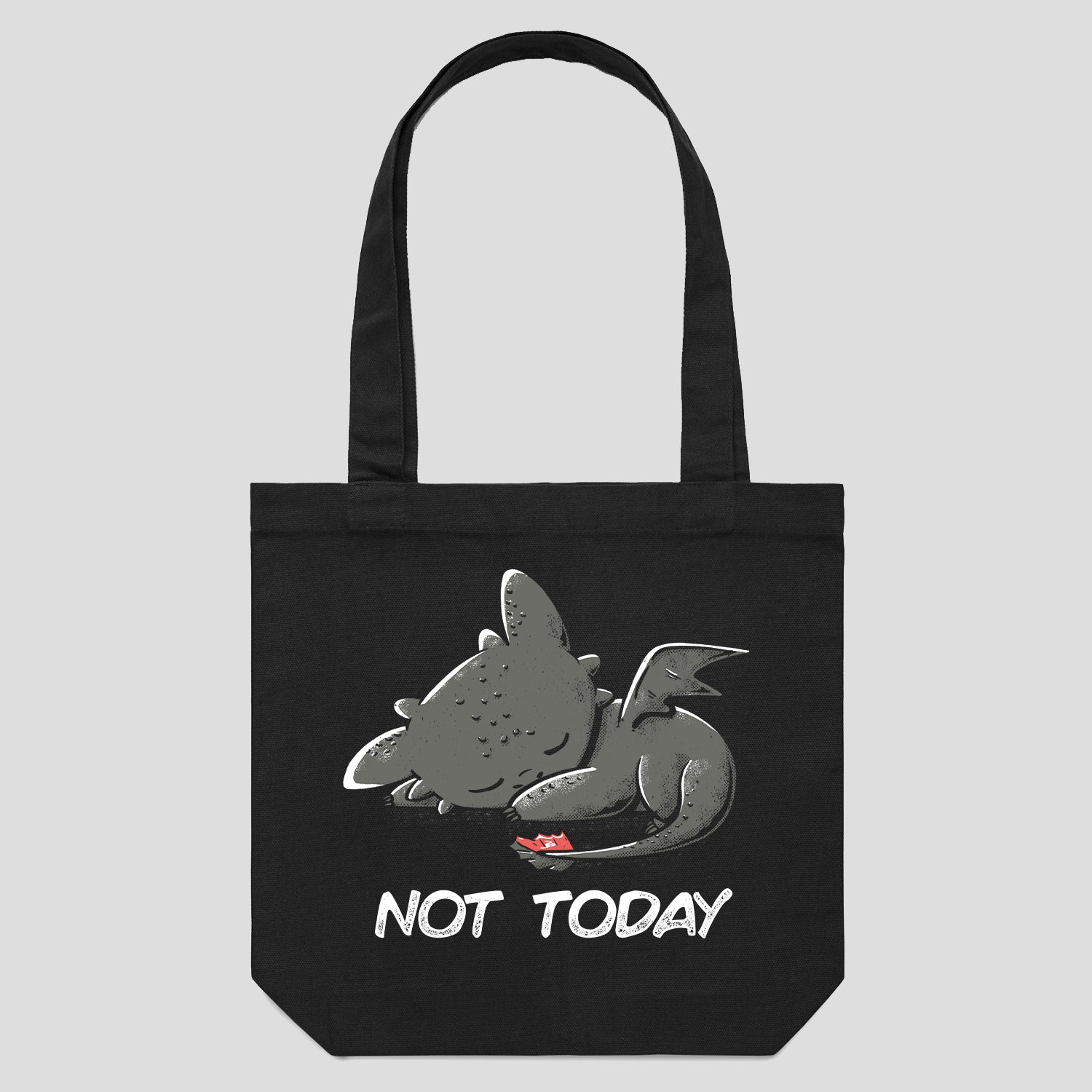 Cute Toothless Night Fury Dragon Tote Bags Australia