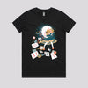 Alice In the Wonderland Cartoon T Shirt