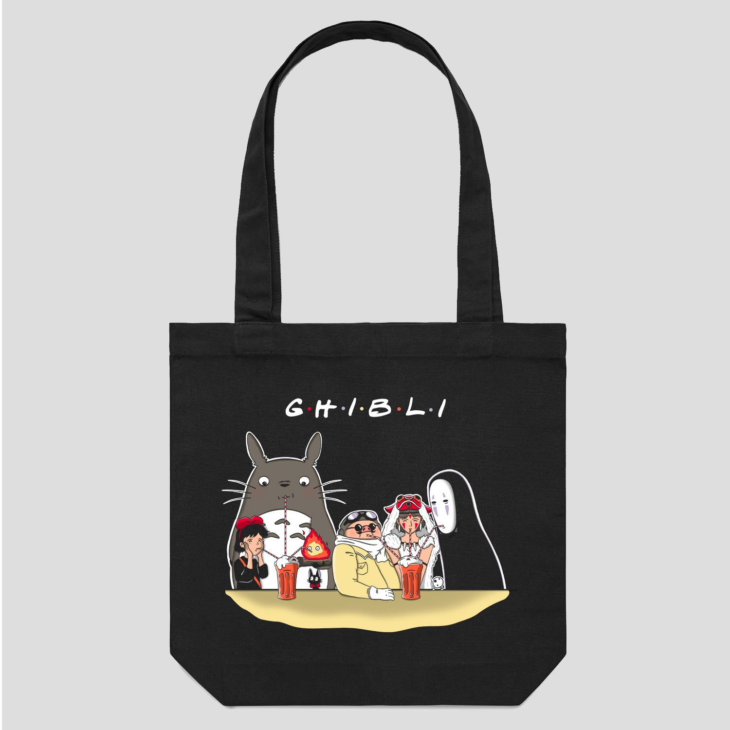 Cool Studio Ghibli Tote Bag Australia