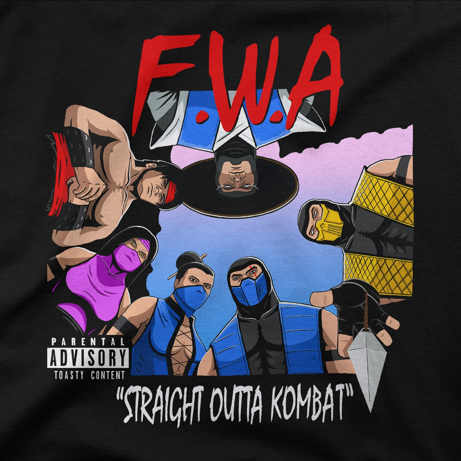 Straight Outta Kombat