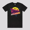 Cool Top Gun Movie T-Shirt in Black