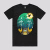 Funny Studio Ghibli T-Shirts in Black