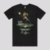 Funny Coffee Disney T-Shirts in Black