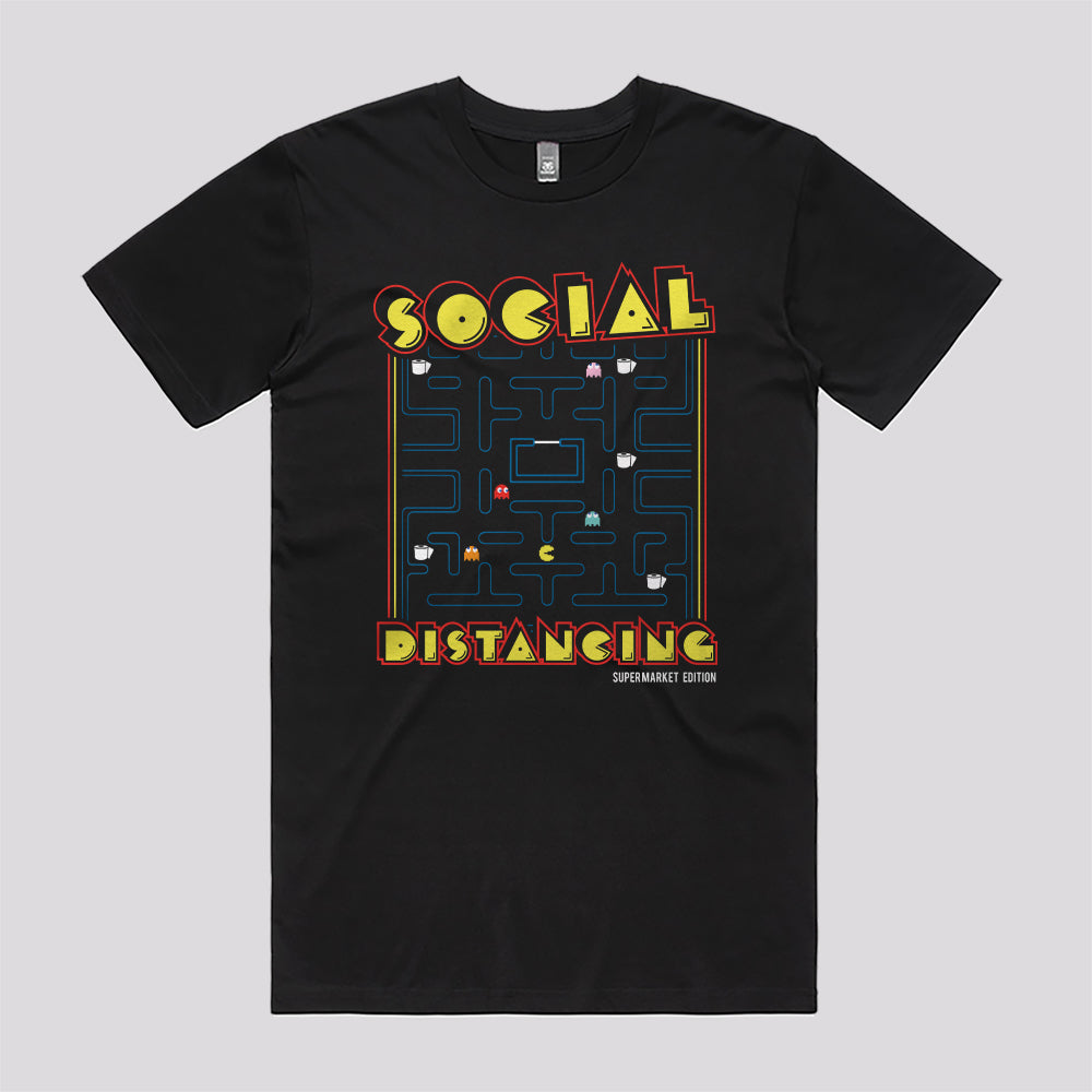 Social Distancing Supermarket T-Shirt