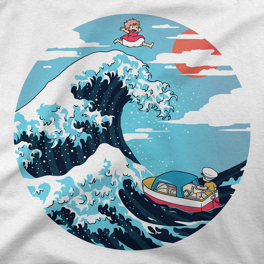 The Great Wave of Ponyo T-Shirt