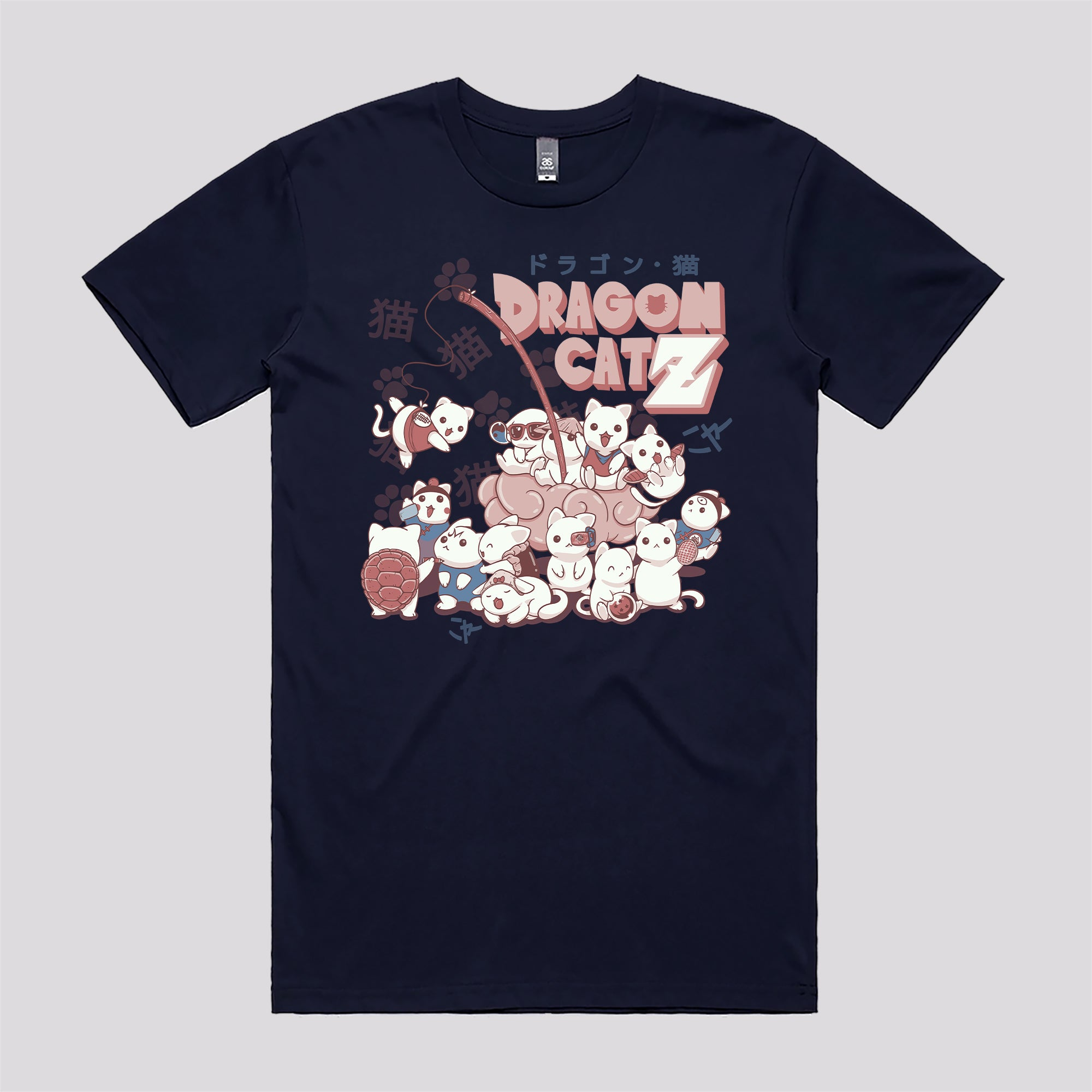 Dragon Ball Cats Funny Anime T Shirts Online Australia