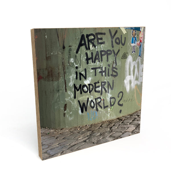 Are you happy in this modern world? - Frankfurt