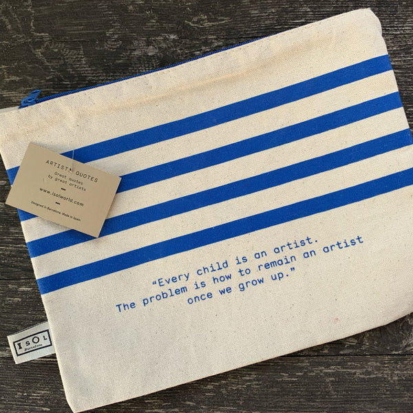 Stripes - kleine Tasche - Toiletry Bag - clutch
