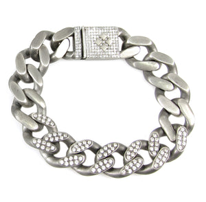 Heavy Curb 6 Diamond Links