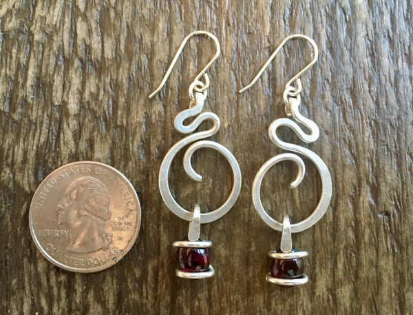 Tiny S Wave Hoops