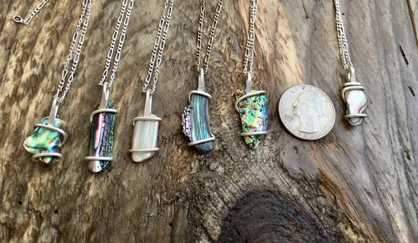 Lil Abalone Necklaces