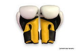 Top King Boxing® gloves | Super collection | Triple tone | White-yellow-black