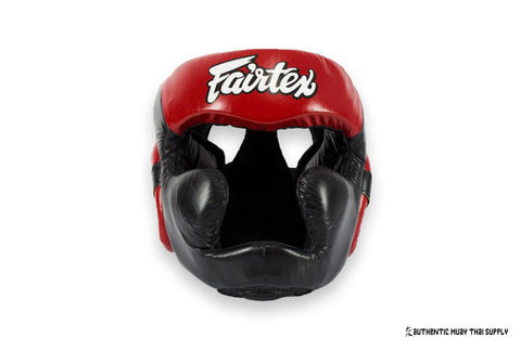 FAIRTEX® | HG13 LACE UP HEAD GEAR | SPARRING HEAD GUARD