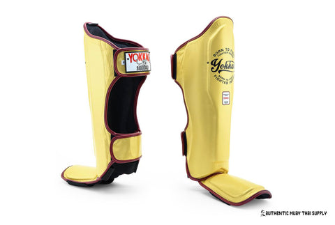 YOKKAO® | VINTAGE GOLD SHIN GUARDS