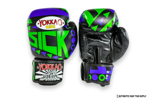 Yokkao® Kids boxing gloves | Sick | Blue-green