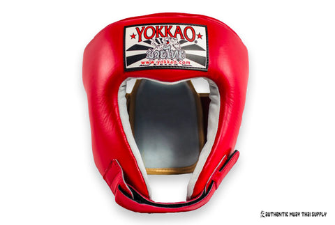 Yokkao® Competition head guard | Red