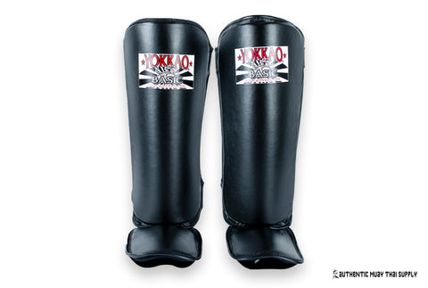 Yokkao® Kids shin guards | Black