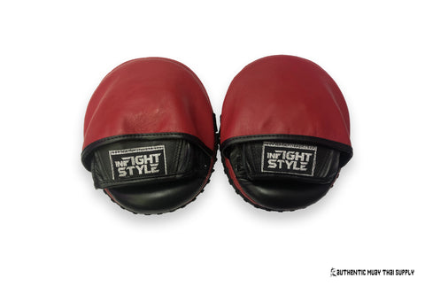 InFightStyle® Micro Mitts | Black-White | Red-Black