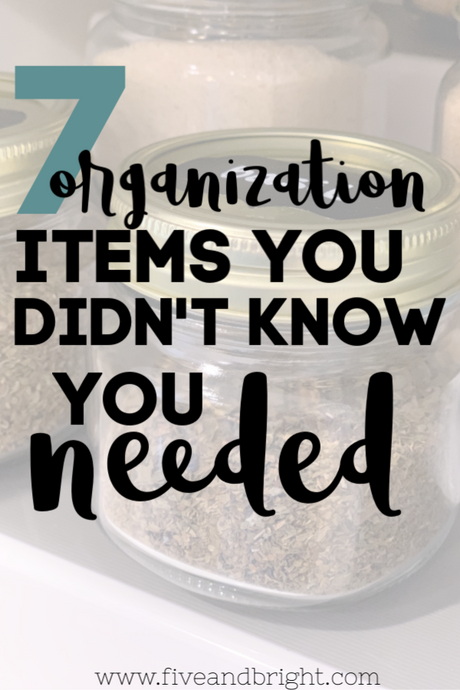 7 Unexpected organization items you didn't know you needed!