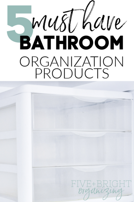5 affordable bathroom organization products you'll love!