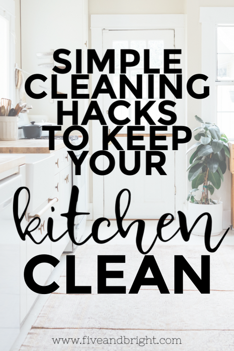 Clean Kitchen Hacks for Busy People