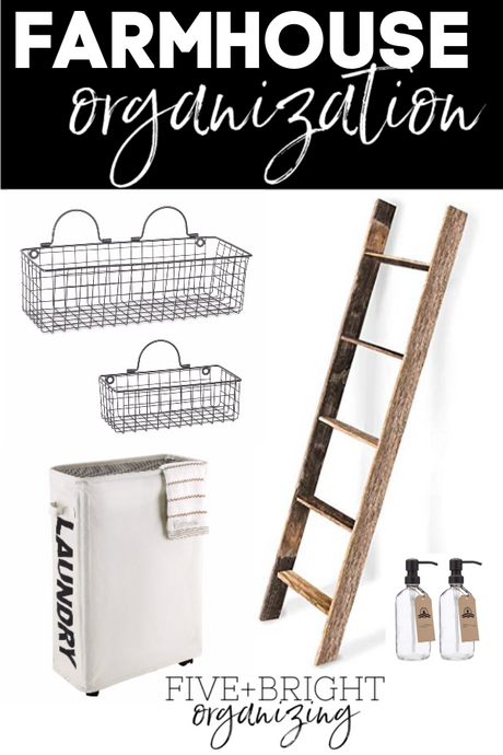 Amazing Farmhouse Organization Products!