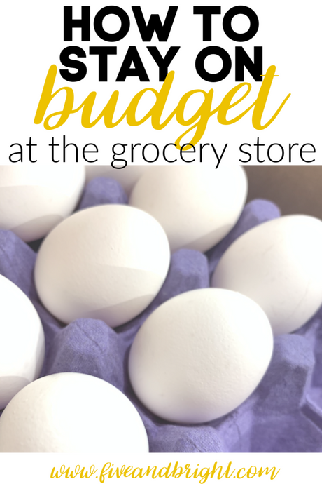 How to Use your Grocery List to Save Money