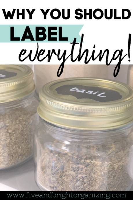 4 Reasons to label your Organization Containers