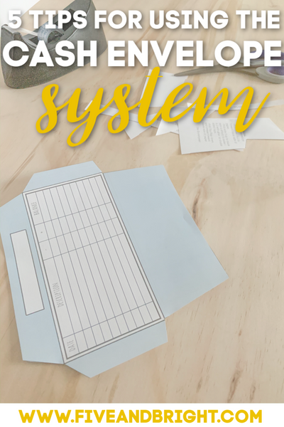 DIY CASH ENVELOPE SYSTEM