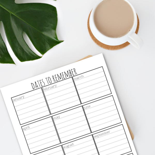 FREE Printable Planner Pages