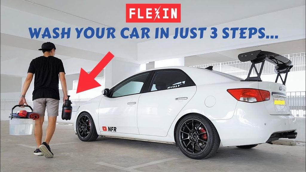 Wash your car in just 3 steps With FLEXIN Car Wash Set | Review by NeedForRide