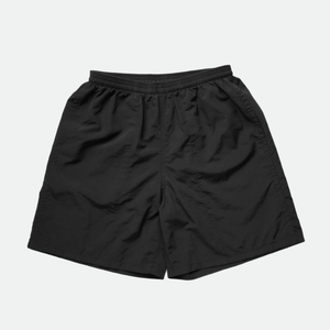 Uncoated Multi-Swim Short Pants (BLACK)