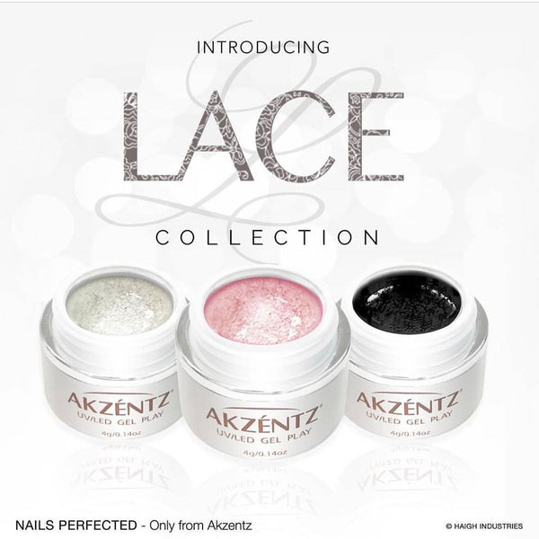 Gel Play Lace Collection - White Lace