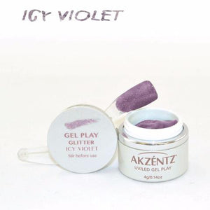 Gel Play Metallic Glitter - Icy Violet