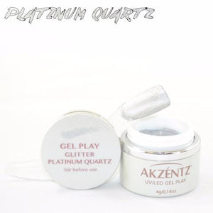 Gel Play Glitter - Platinum Quartz