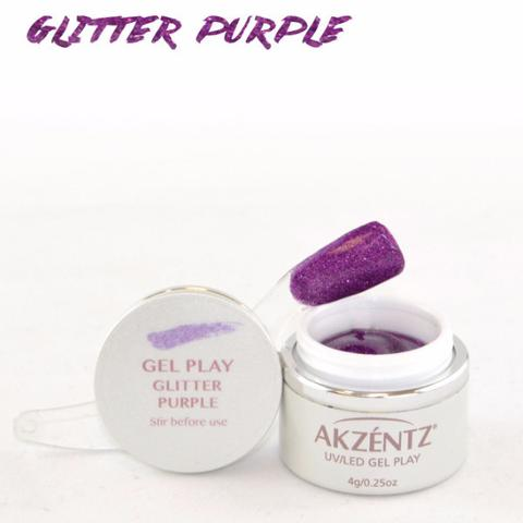 Gel Play Glitter - Purple